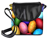 Snoogg Colorful Eggs Womens Sling Bag Small Size Tote Bag
