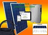 1500Watt Solaranlage Photovoltaikanlage Eigenverbrauch Plug & Play für Steckdose mit Aufständerung