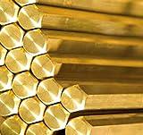 Brass Hexagon Bar 5mm diameter - Various Lenghts - CZ121 (100mm)