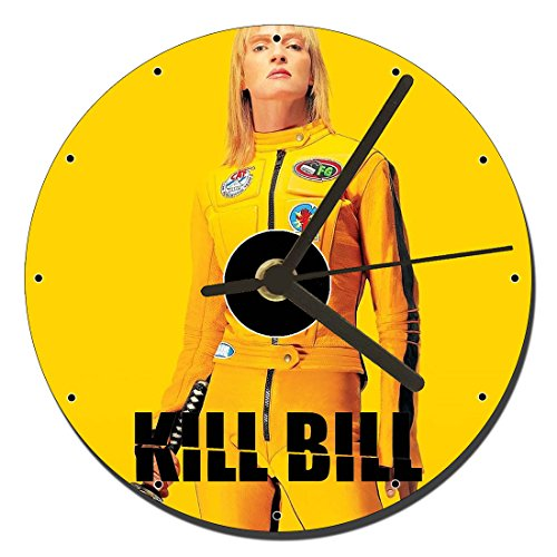MasTazas Kill Bill Uma Thurman A Orologio CD Clock 12cm