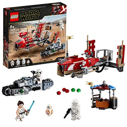 LEGO®-Star WarsTM La course poursuite en speeder sur Pasaana Jouet Enfant à Partir de 8 ans, 373 Pièces à Construire 75250