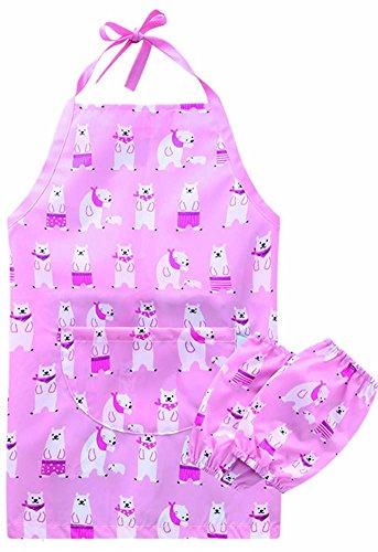 n Küchen-Schürze für Kinder mit Manschette (Kleinkind Kittel Kostüme)
