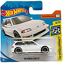 Hot Wheels 90 Honda Civic EF HW Speed Graphics 8/10