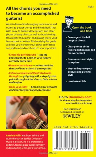 Image of Guitar Chords For Dummies