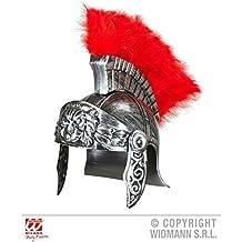 Romano Casco / Casco romano / Gladiator Accesorios de vestuario Romano en antiguo Plata