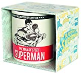Superman MUGBSM19 Kaffeetasse, Keramik, weiß, 8 cm