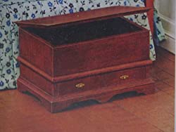 Dollhouse Furniture- Dower Chest/ Circa 1790 #40034 Assembled (The House of Miniatures)