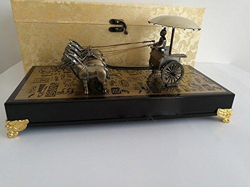 xy Qin Shihuang Terrakotta Krieger Kupfer Wagen Antike Handwerk Kupfer Auto Pferd Dekoration Xi 'EIN...
