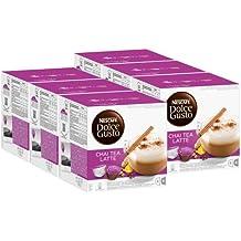 Nescafé Dolce Gusto Chai Tea Latte, Paquete de 6, 6 x 16 Cápsulas (48 Tazas)