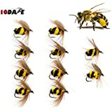 Fishing Lures & Baits 10Dare Fishing Bait Honey Bees | Pack Of 10 Handmade Bionic Bees Hook Size: No. 10 (~15mm)