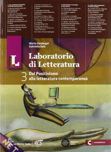 Il laboratorio di letteratura. Con Guida all'esame. Per le Scuole superiori. Con espansione online: 3