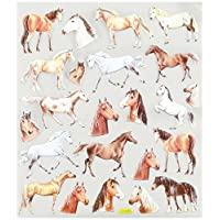 Tattoo King Multi-Colored Stickers-Wild Horses