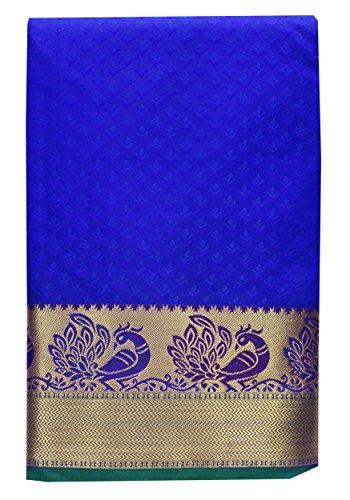 Saravanabava Silks - Kanchipuram Silks Sarees ( Kanchi Art Pattu Empossd Peacock...