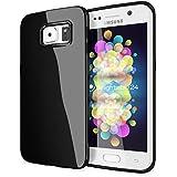 delightable24 Protección Caso Case de la Cubierta de TPU Silicona Jelly SAMSUNG GALAXY S6 EDGE PLUS Smartphone - Negro