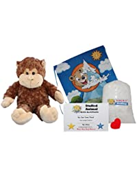 "Make Your Own Stuffed Animal ""Mookey The Monkey"" - No Sew - Kit With Cute Backpack!"