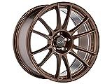 OZ Ultraleggera Hlt Matt Bronze 8.5x19 ET32 5x112 Fix 57,06 Vw Audi Skoda Seat Llanta de Aleación