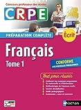 Francais écrit : Tome 1
