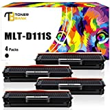 Toner Bank 4 Pack Kompatibel Toner für MLT-D111S MLT-D111L für Samsung Xpress SL-M2020 M2020W M2022 M2022W M2070 M2070W M2070F M2070FW M2026W