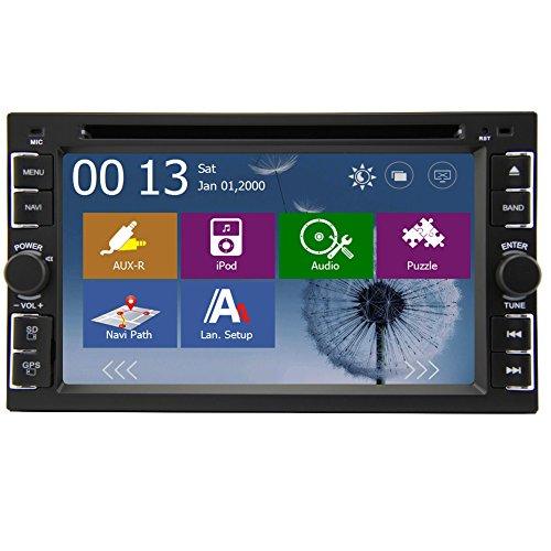 EINCAR-Receiver-System Auto Radio BT Audio PC im Schlag-Auto Stereo-CD-DVD-Spieler Auto-Video-Audio Doppel-DIN-Head Unit Digital-TFT Touch Screen 6.2