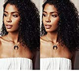 """Pre-Plucked 360 Lace Frontal Wigs 130% Density with Baby Hair Brazilian Virgin Human Hair Deep Curly Wigs 360 Lace Wigs For Black Women (10"""")"""