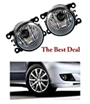 The Best Deal Fog Light is the excellent choice for your vehicle. It will provide you bright wide and long throw of light on the street and let you drive comfortably Features. It is Ideal light for drivers, who want to drive with more light for great...