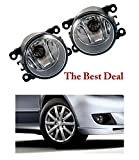 #9: The Best Deal Car Fog Light/ Car Fog Lamp for Fiat Linea - 55/W Halogen Bulb