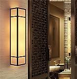 FUFU chinesische antike Wandlampe Schlafzimmer Nacht Studie Engineering Hotelflur Gang Eisenbett Wohnzimmer Wandleuchte (größe : 80cm)