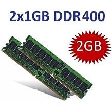 Módulo de memoria (Mihatsch y Diewald) 2 GB Dual Channel Kit 2 x 1 GB 184 pin DDR-400 (400 mhz, PC3200, CL3) doble cara DDR1 Intel + AMD sistemas