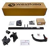 Abnehmbare Westfalia Anhängerkupplung für GLA X156 (BJ ab 03/2014), CLA C117 (BJ ab 04/2013) im Set mit 13-poligem fahrzeugspezifischen Westfalia Elektrosatz