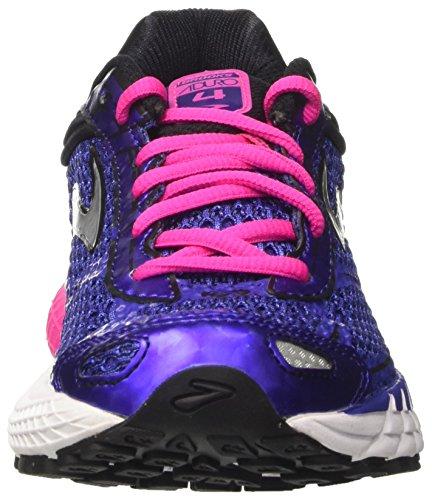 Brooks Aduro 4, Chaussures de Running Compétition Femme, 38 EU Bleu (Spectrum Blue/pink Glo/black)