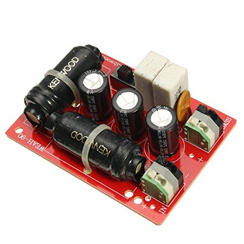 LaDicha Weah-90 200 w Pure Bass Subwoofer 2-Wege Crossover Frequency Divider für 3-8 inch Speaker 200w Gps