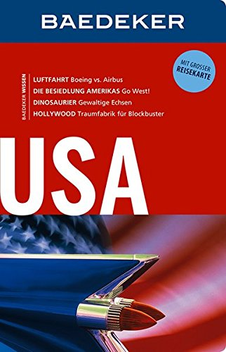 Preisvergleich Produktbild Baedeker Reiseführer USA: mit GROSSER REISEKARTE
