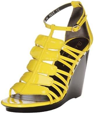 Robert Clergerie Womens Sandals Yellow Gelb (Jaune) Size: 38.5