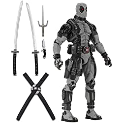 Marvel 61446 Deadpool Force X - Figura, Escala 1:4