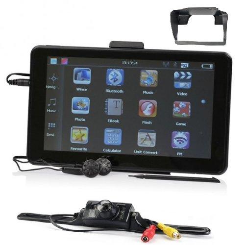 7 Zoll GPS Navigationsgerät Mit Drahtlose Rückfahrkamera Für PKW. Blitzer, Kostenlos Map Update, INKLUSIV Bluetooth, AV-IN(Eingang für Rückfahrkamera oder andere AV Geräte). Sofort Lieferbar aus Deutschland. Von Electronics Master