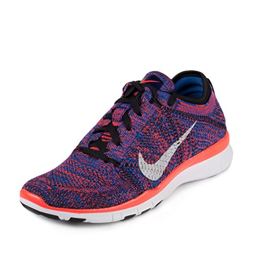 Nike Wmns Free TR Flyknit, Chaussures de Gymnastique Femme Noir
