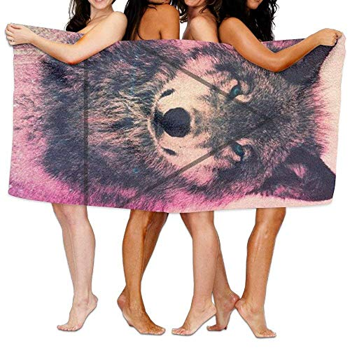 xcvgcxcvasda Unisex Cool Wolf Beach Towels Badetuch,s for Teen Girls Adults Travel Towel Washcloth 31x51 Inches