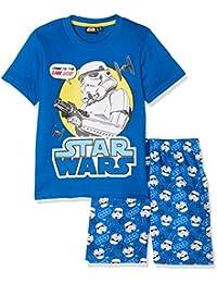 Star Wars Kinder Schlafanzug Set kurz 2tlg.
