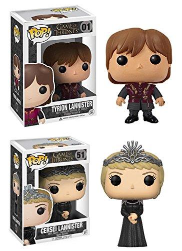 Funko POP! Game Of Thrones: Tyrion + Cersei Lannister - Vinyl Figure Set NEW