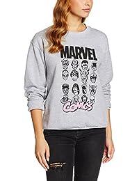 Marvel Multi Head, Sudadera para Mujer