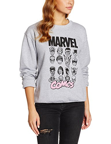 marvel-multi-head-sweat-shirt-femme-gris-medium