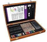 Derwent Academy Wooden Box Art Kit - Derwent - amazon.co.uk