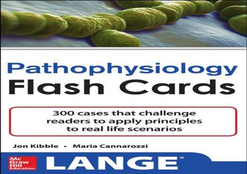 Pathophysiology Flash Cards (Lange Flash Cards) (Ventilation Lange)