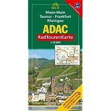 ADAC Radtourenkarte Rhein-Main, Taunus, Frankfurt/Main, Rheingau: 1:75000