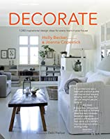 Decorate ( Edition with cover & price): 1000 Professional Design Ideas for Every Room in the House from Jacqui Small LLP