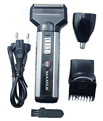 MaxelNova® Multi-functional Hair Clipper, Shaver, Trimmer and Nose Trimmer AK-952 Shaver For Men
