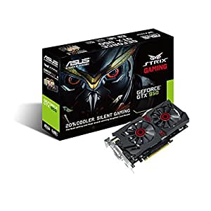2GB GTX950 Asus Strix Gaming Direct CU II (GDDR5, DirectX 12, 1190 MHz in gaming mode· 1228MHz in OC mode) PCI-E 3.0 - Graphics Card