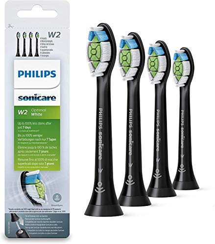 Philips HX6064/11 - Pack con 4 cabezales Optimal White para cepillos Sonicare,...