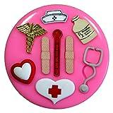 Erhalten Sie Brunnen bald - medizinisch / Doktor Medical Silikon Form für Kuchen Dekorieren, Kuchen, kleiner Kuchen Toppers, Zuckerglasur Sugarcraft Werkzeug durch Fairie Blessings