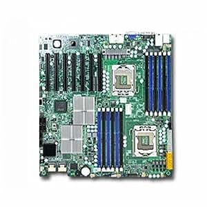 Supermicro X8dth-i-b Dual LGA1366Xeon/Intel 5520/DDR3/V & 2gbe/EATX Server carte mère, Bulk